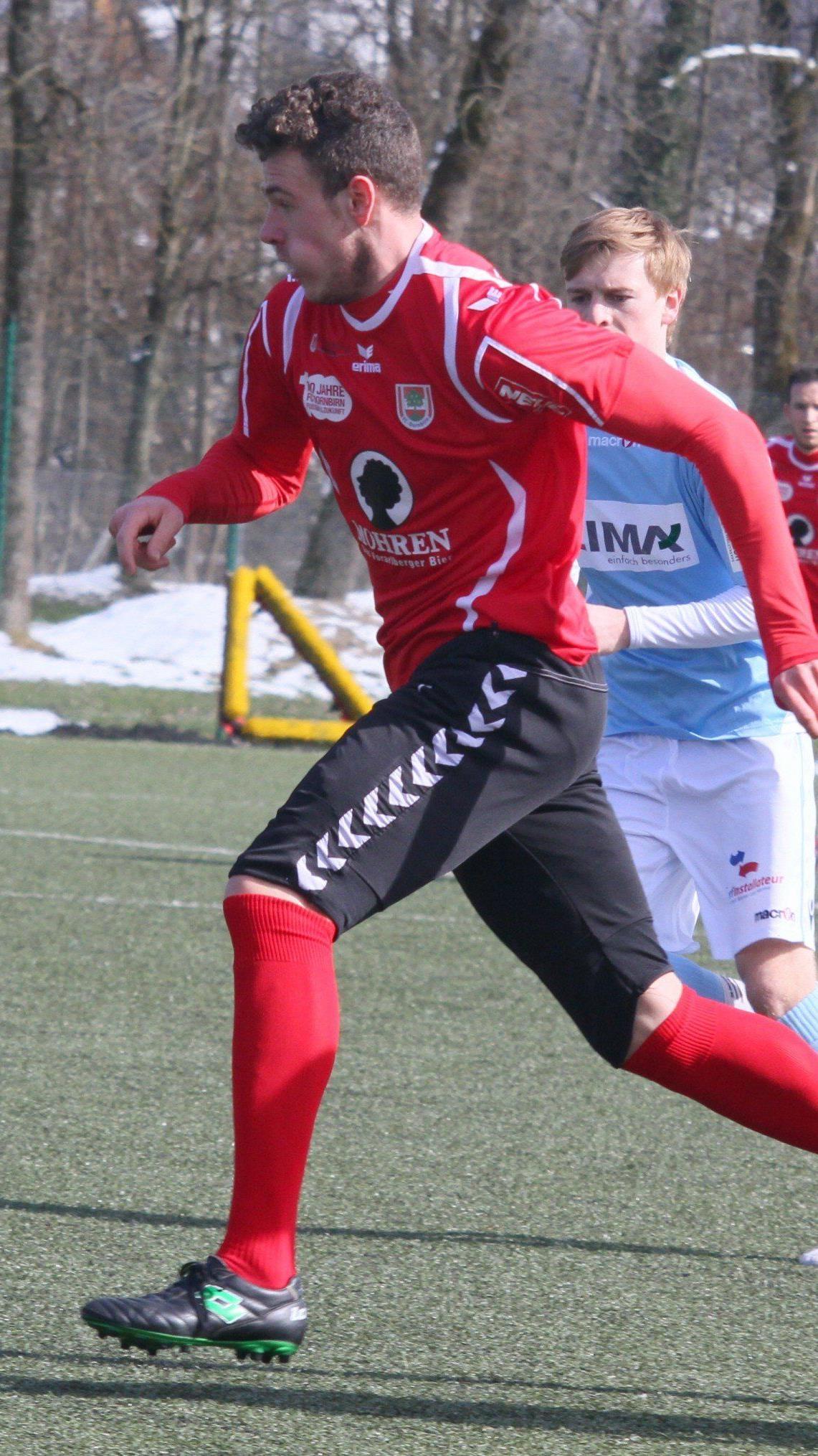 Deniz Mujic spielt nun wieder beim Stammklub FC Dornbirn.