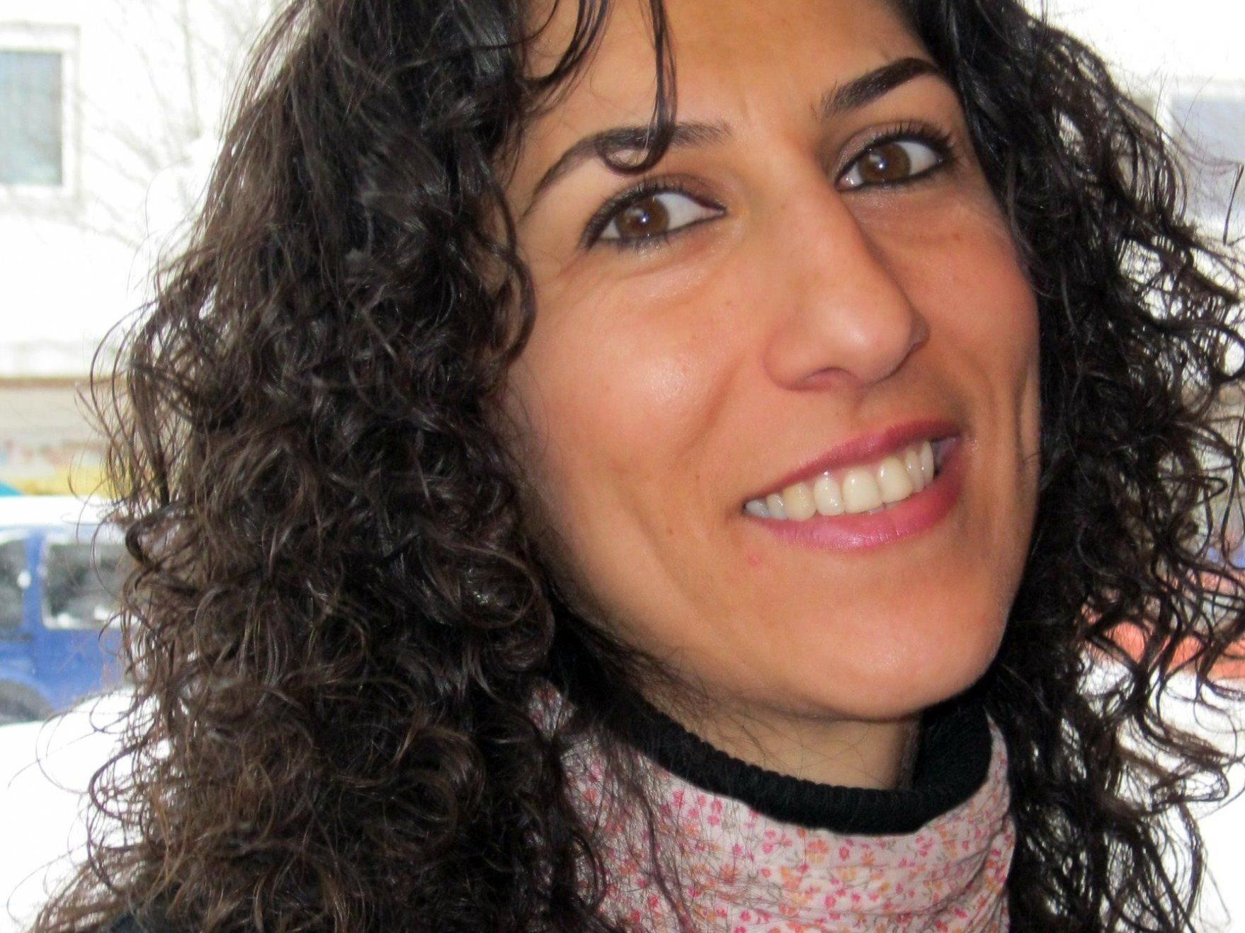 """""""Ich bin eine Tochter Palästinas"""" heißt der Titel des Vortrags von Marwa Nasser-Metzler."""