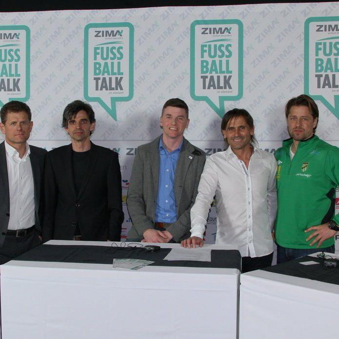 Fachleute diskutierten beim 1. Zima Fußballtalk im Dornbirner Element über viele brisante Themen.