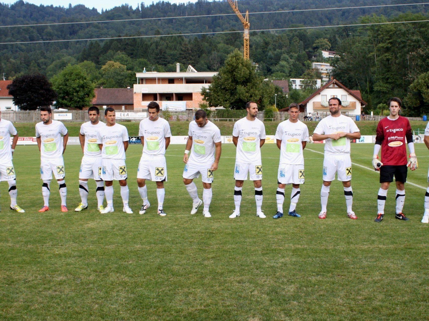 Die Kampfmannschaft des Typico SV Lochau startet mit großen Zielen in die Frühjahrsmeisterschaft.