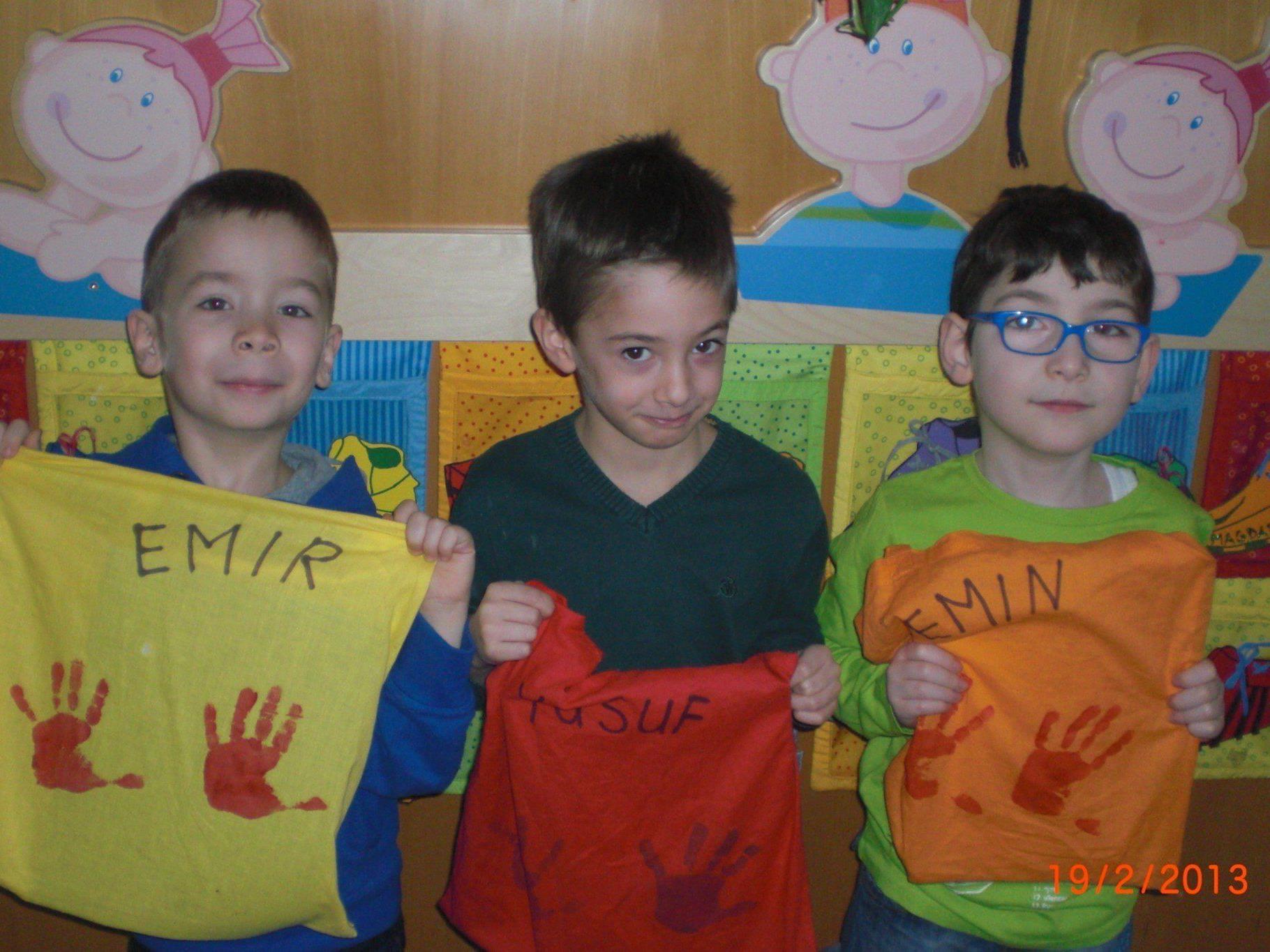 """Auch Emir, Yusuf und Emin macht die tägliche """"Sprachförderungsstunde"""" viel Spaß."""