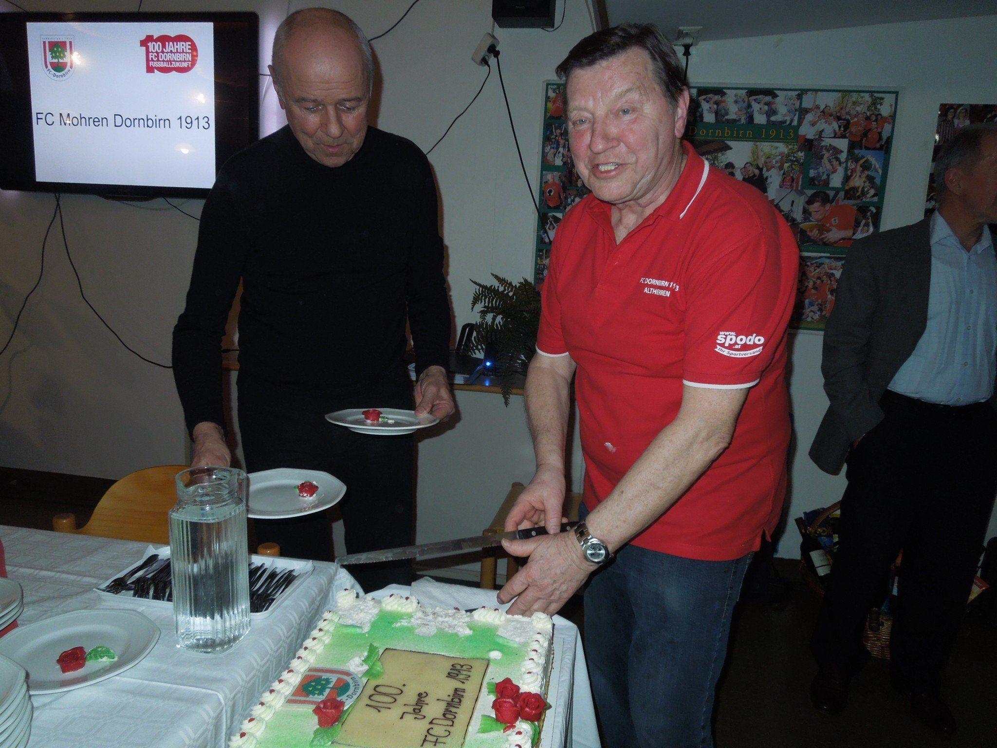 Es ist angerichtet: Der FC Dornbirn ist ein Jahrhundert alt!