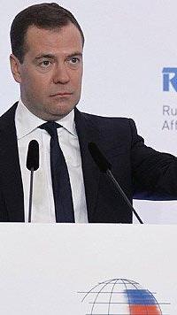 """Medwedew sicher: Rettungsplan ist """"Diebstahl""""."""