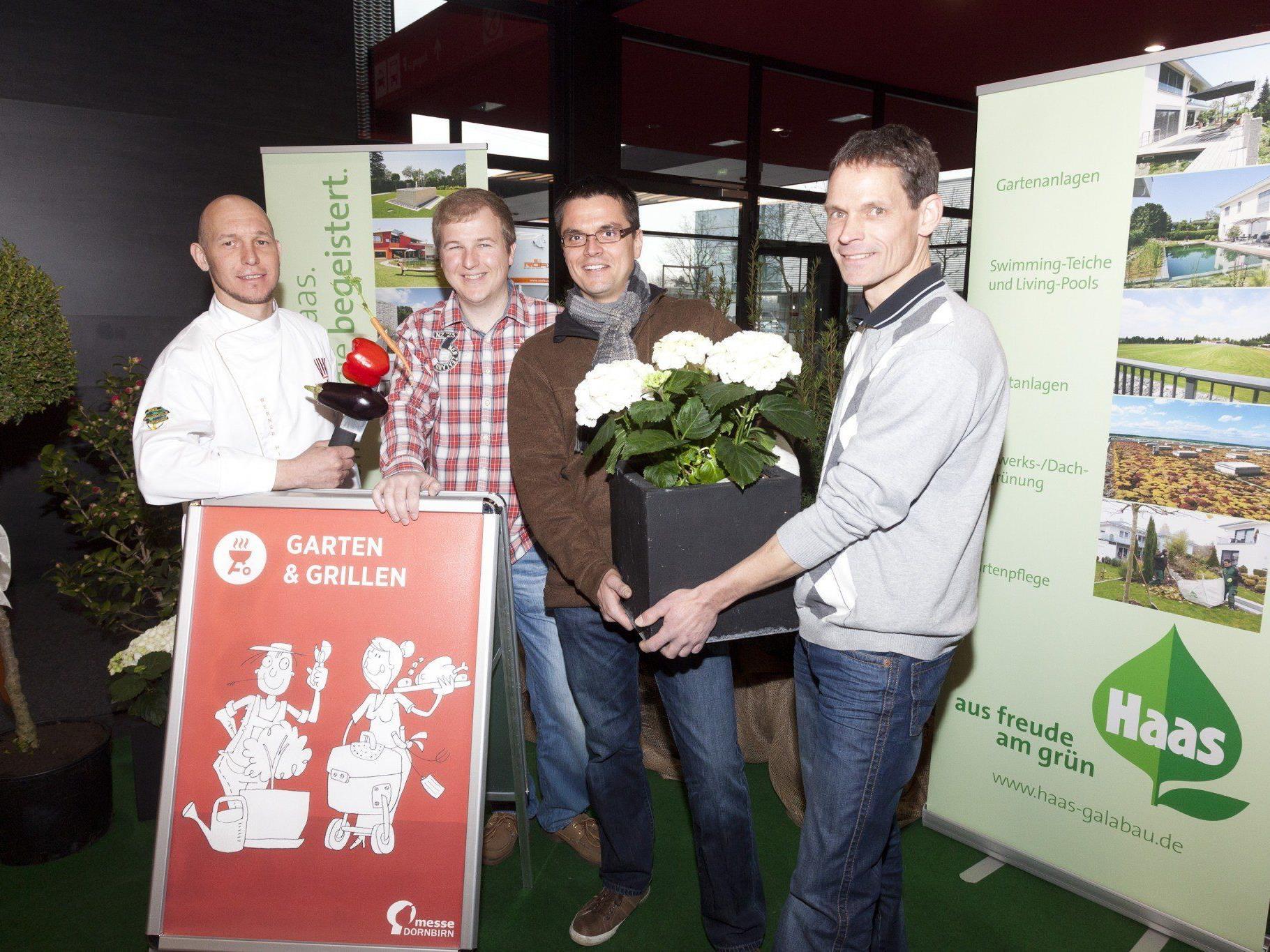 """Zahlreiche Gäste präsentierten die Highlights des Frühlingsschwerpunkts """"Garten & Grillen""""."""