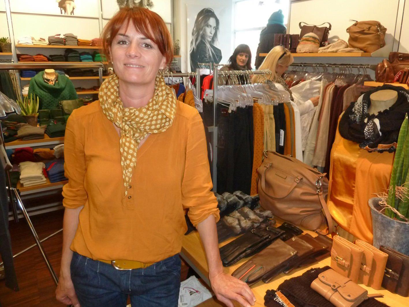 Barbara Kirchner von Esprit lädt zum Modefrühling.-Verkaufsevent.