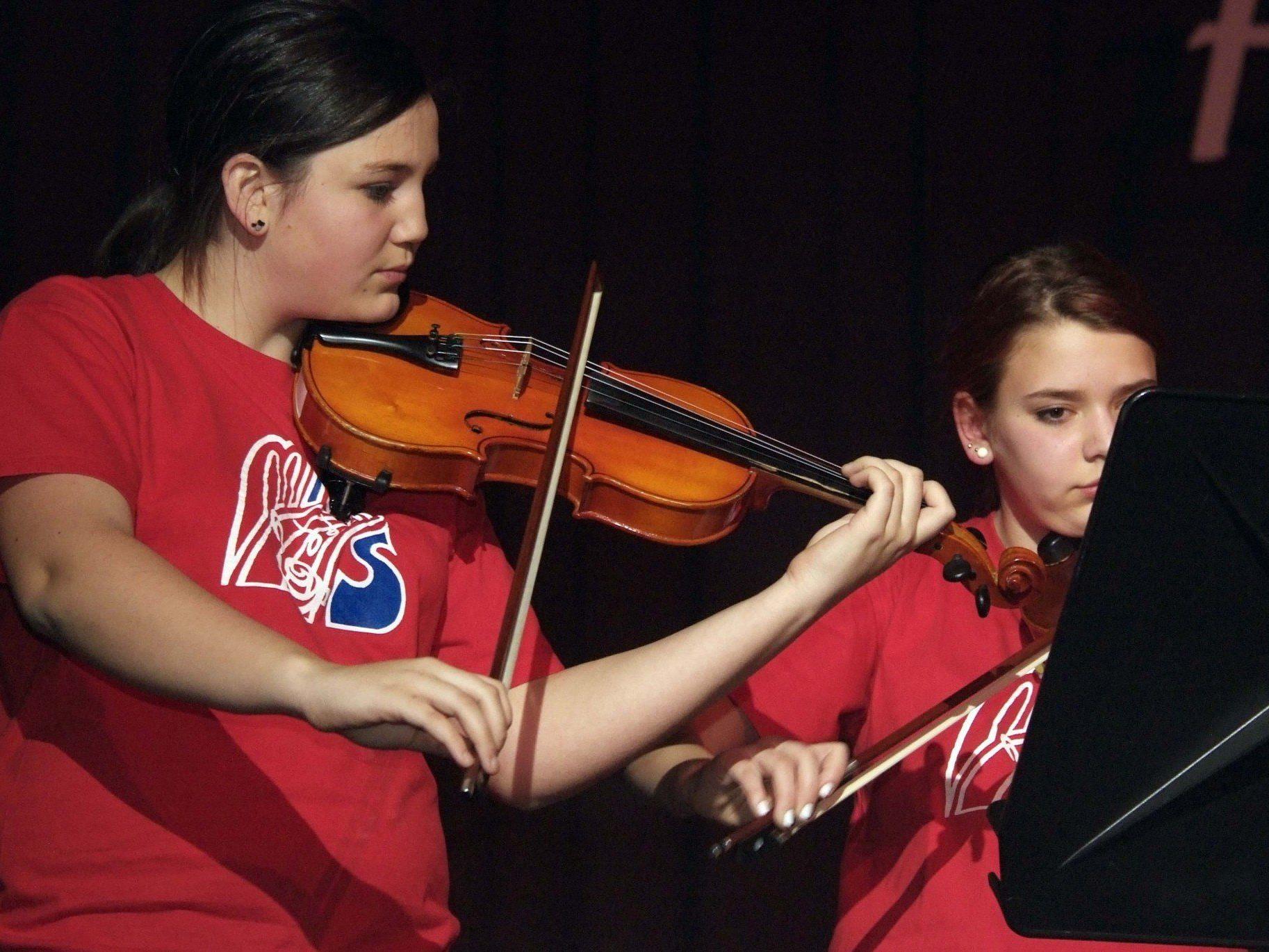 Ein abwechslungsreiches Programm erwartet die Besucher beim Konzert der Musikmittelschule.