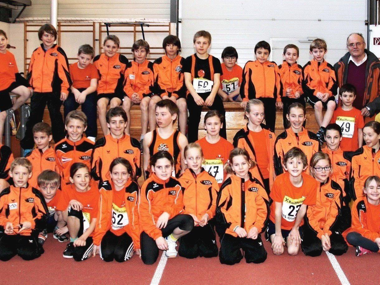 Die NachwuchsleichtathletInnen der Sportgemeinschaft Götzis beeindruckten bei den Vorarlberger Nachwuchsmeisterschaften.