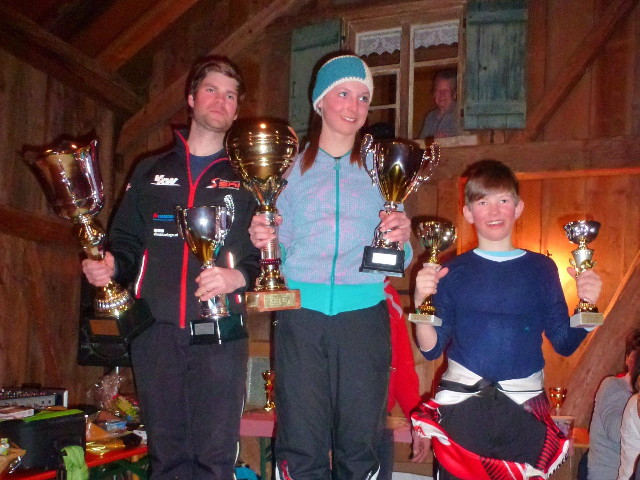 Die Gewinner der Vereinsmeisterschaft des SC Schwarzenberg