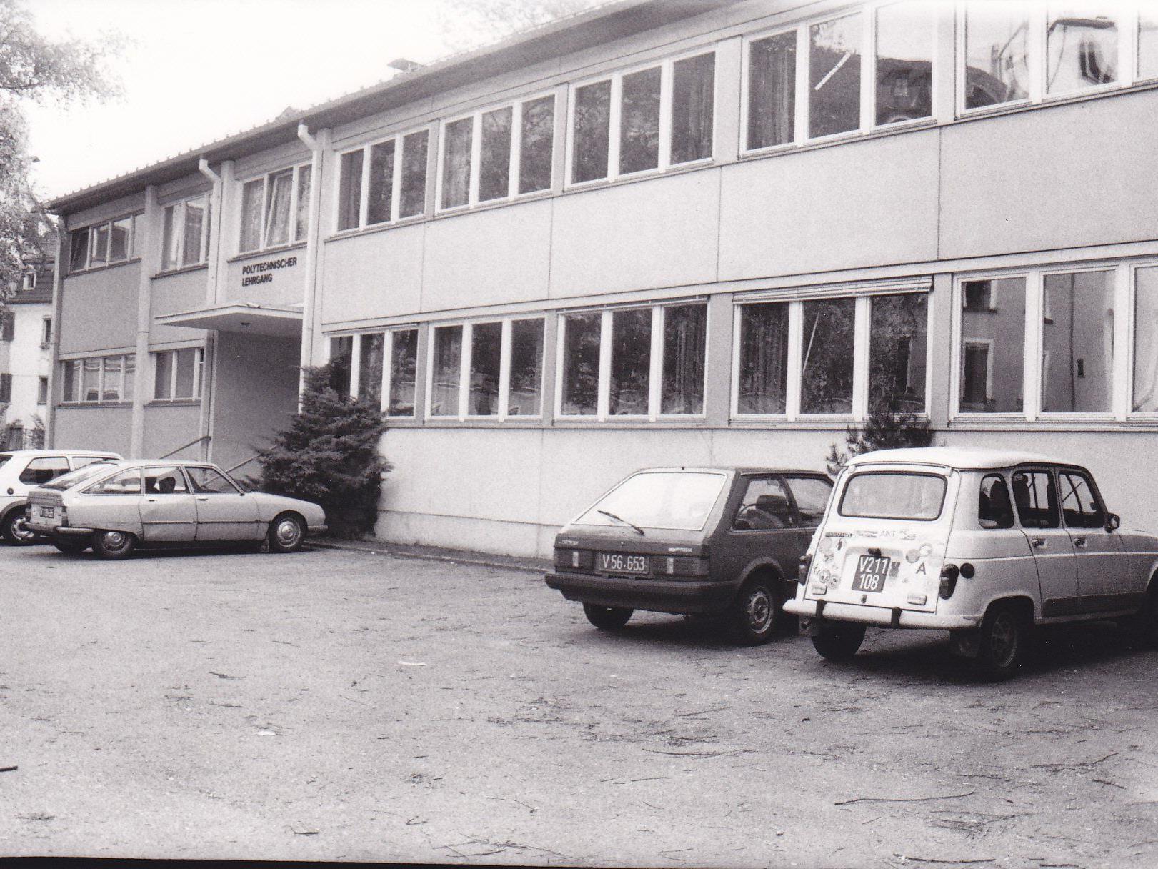 Das einstige Gebäude des Polytechnischen Lehrganges (Poly) wurde 2011 abgebrochen