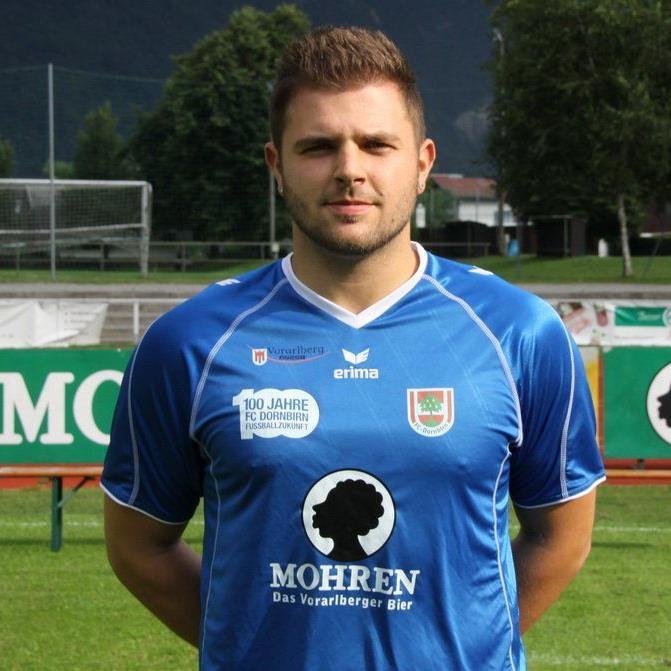 FC Dornbirn-Tormann Dominik Lampert muss verletzungsbedingt wieder einen Monat lang pausieren.