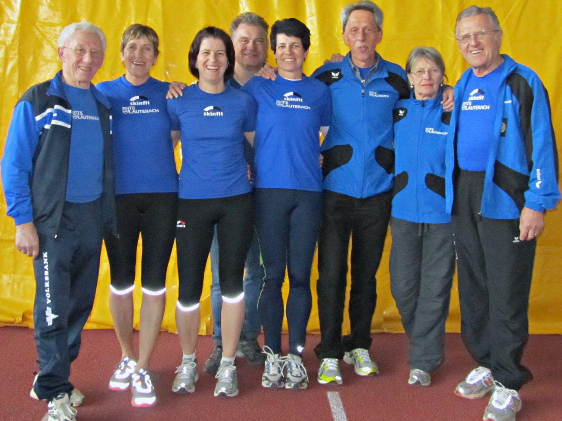 Erfolgreiche TS-Lauterach Leichtathletik-Masters