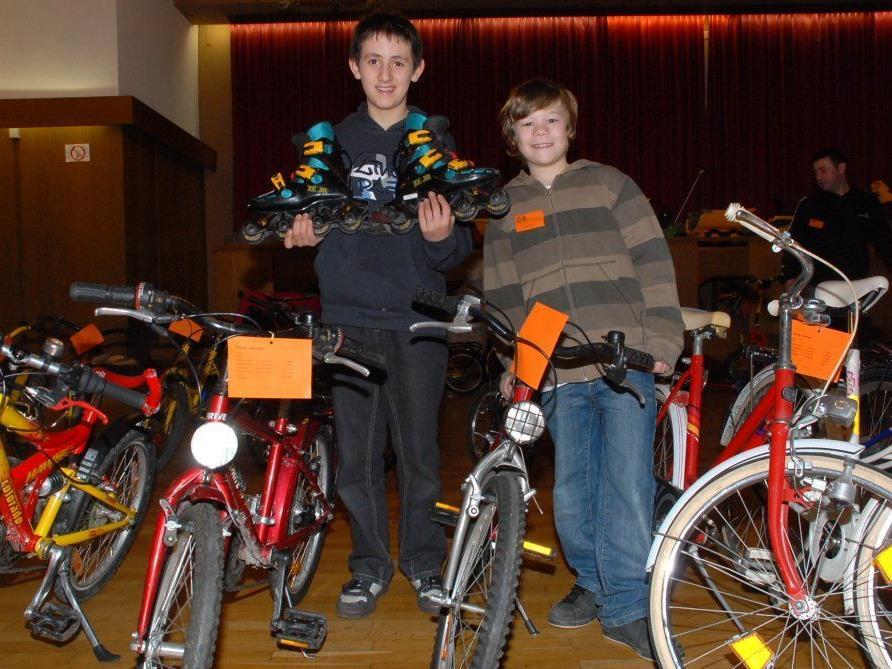 Am Samstag findet in der Aula der Räder- und Freizeitbasar des Elternvereins statt.
