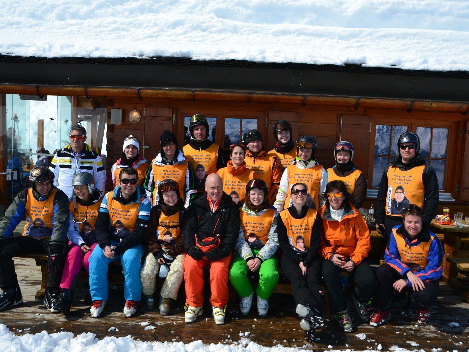 Die Gewinner mit Vertretern von Vorarlberg Milch, Ovomaltine, Sport Wilhelmer und Illwerke Tourismus.