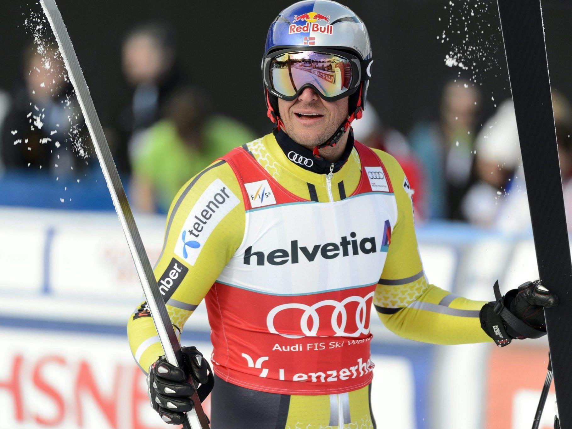 Die Weltcup-Abfahrtswertung 2012/2013 geht an den Norweger Aksel Lund Svindal.