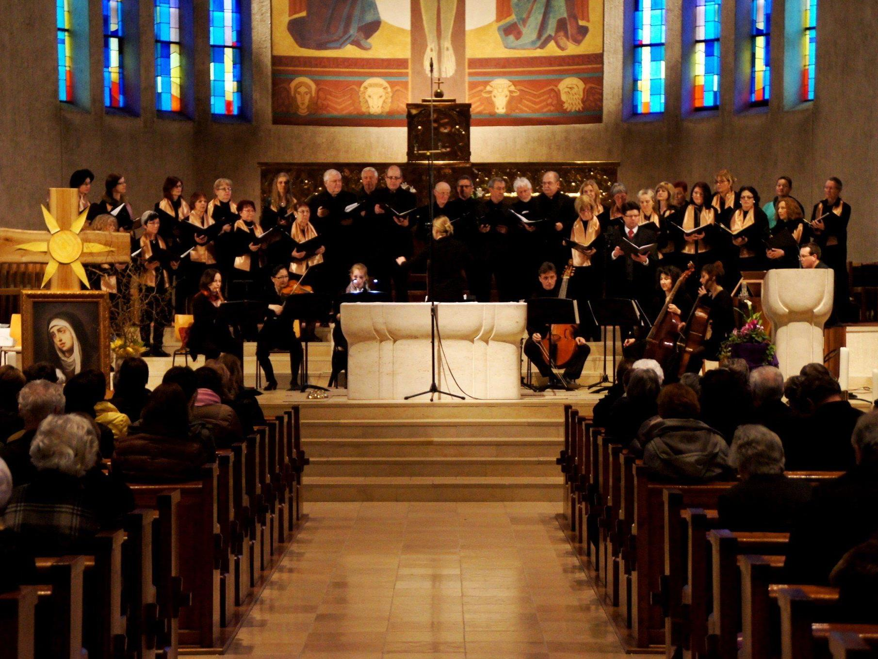 Chor und Orchester harmonierten perfekt!