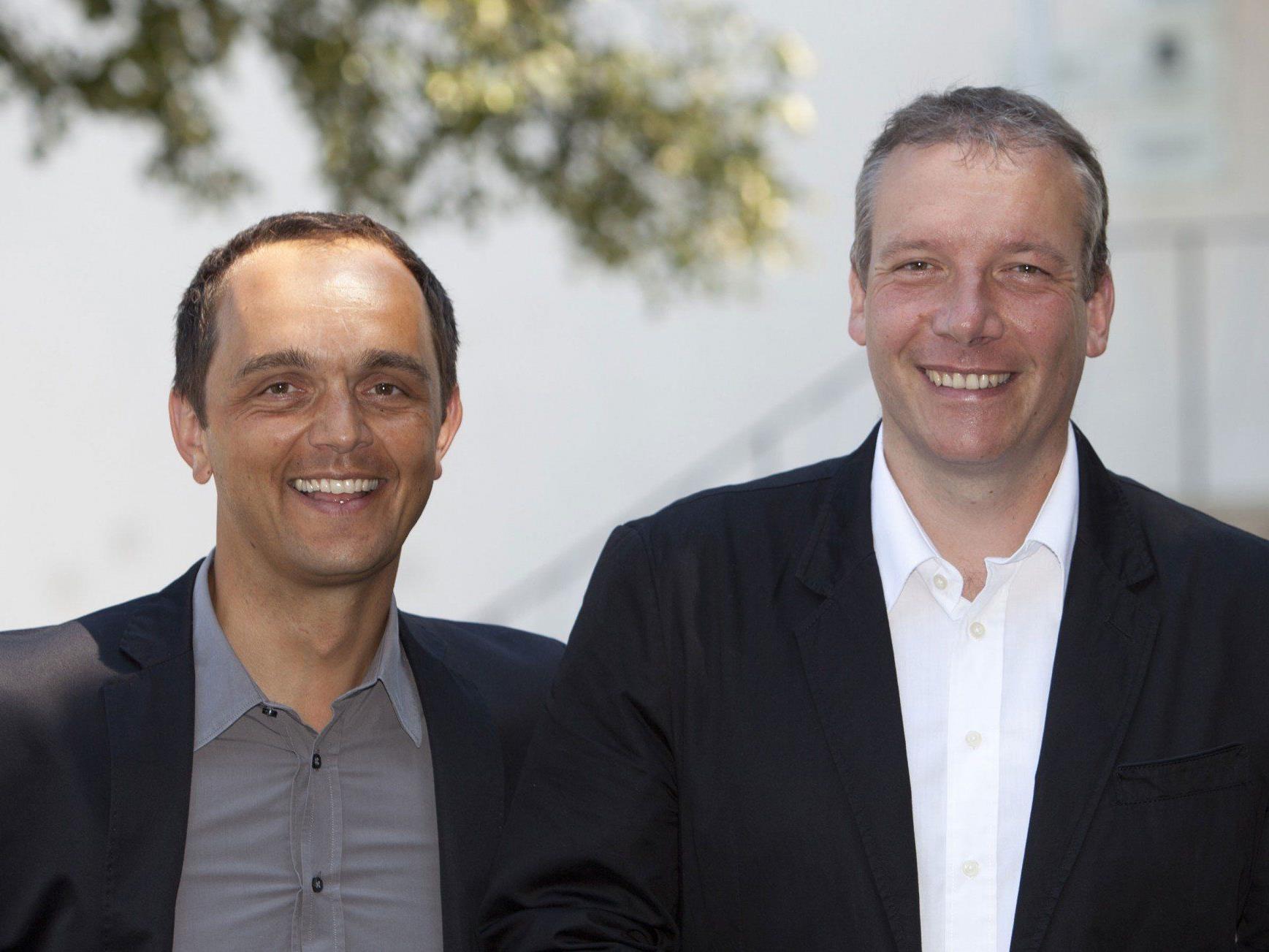 Nichts mehr zu Lachen: VoVo-Gesellschafter Hannes Jochum und Stefan Vögel müssen den Spielbetrieb Ende 2013 einstellen.