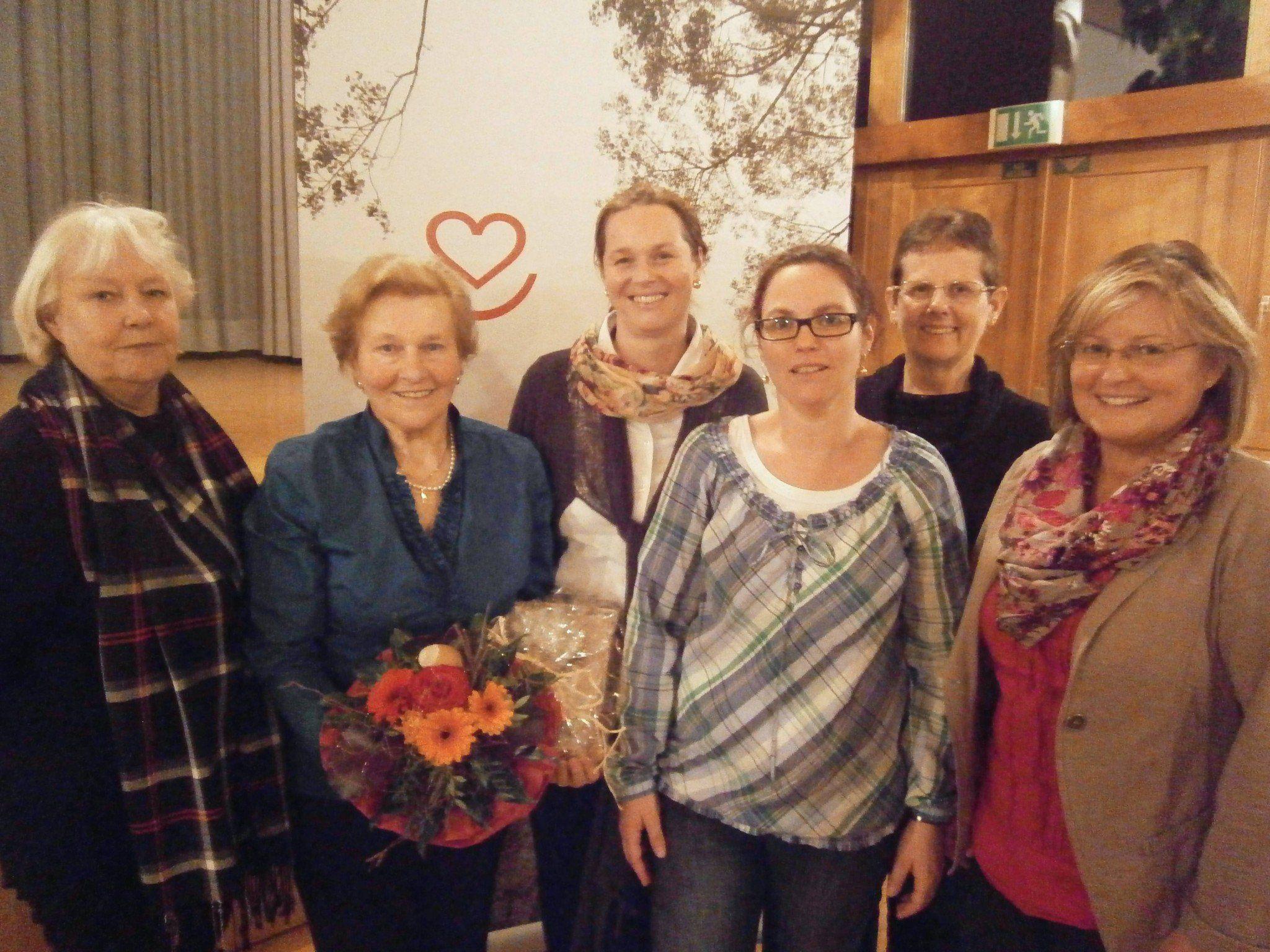 """Engagierte """"Frauenpower"""" beim Krankenpflegeverein Bildstein."""