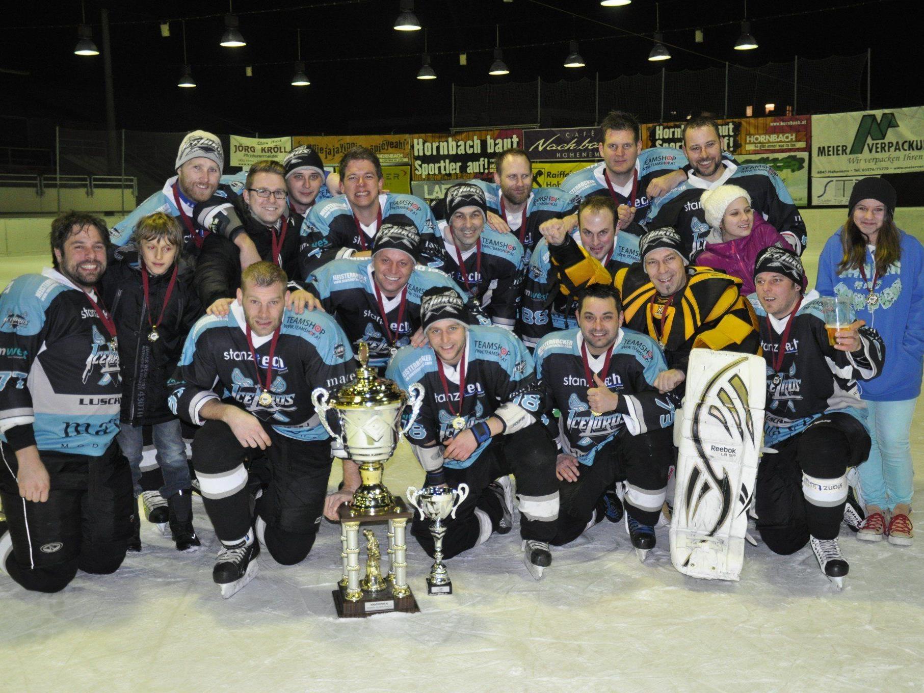 WHL Meister 2012/13  --- EC Ice Lords Lustenau