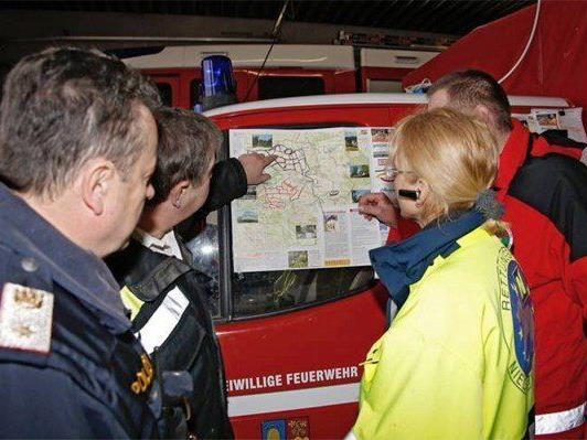 Die Suche nach dem Vermissten im Weinviertel dauert an