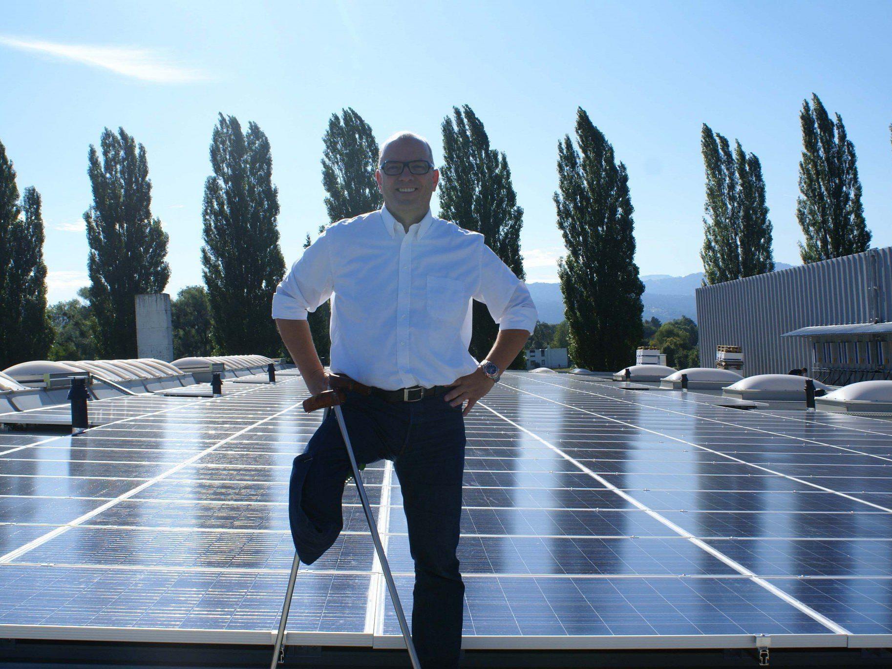 Die von Wirkungsgrad projektierten PV-Anlagen für Vorarlberg umfassen ein Investitionsvolumen von 2,2 Millionen Euro.