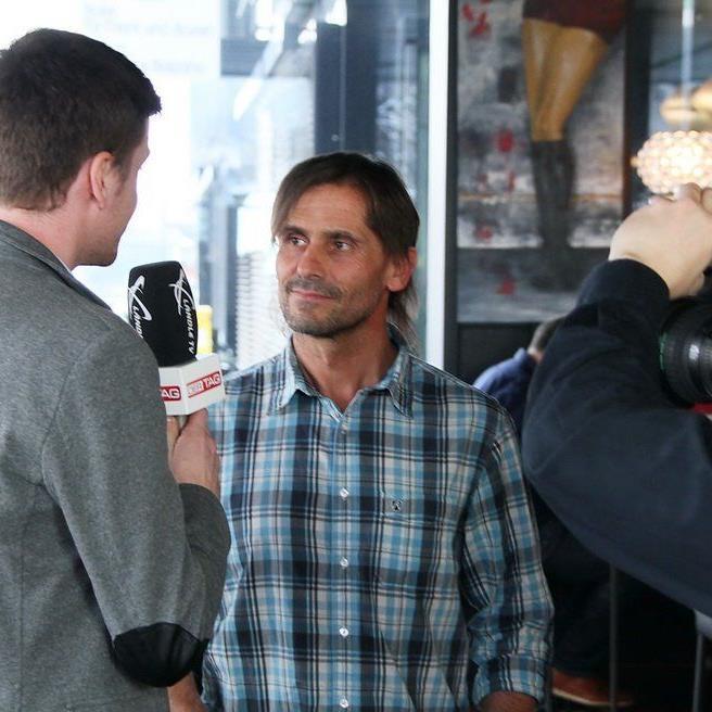 VN-Fußballexperte Christian Adam ist beim Fußballtalk im Element auch als Moderator im Einsatz.