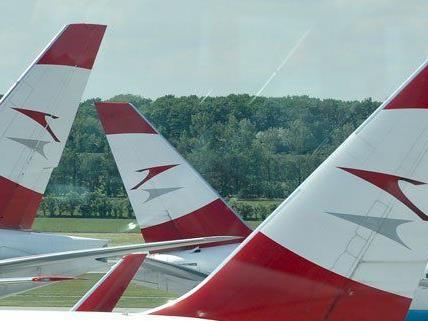Vier Mal täglich fliegt die AUA zwischen Wien und Brüssel.