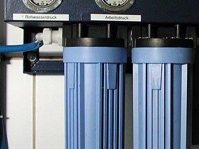 Bevor Sie sich für den Kauf eines oft teuren Aufbereitungsgerätes entscheiden, informieren Sie sich bei dem  Wassermeister der Gemeinde