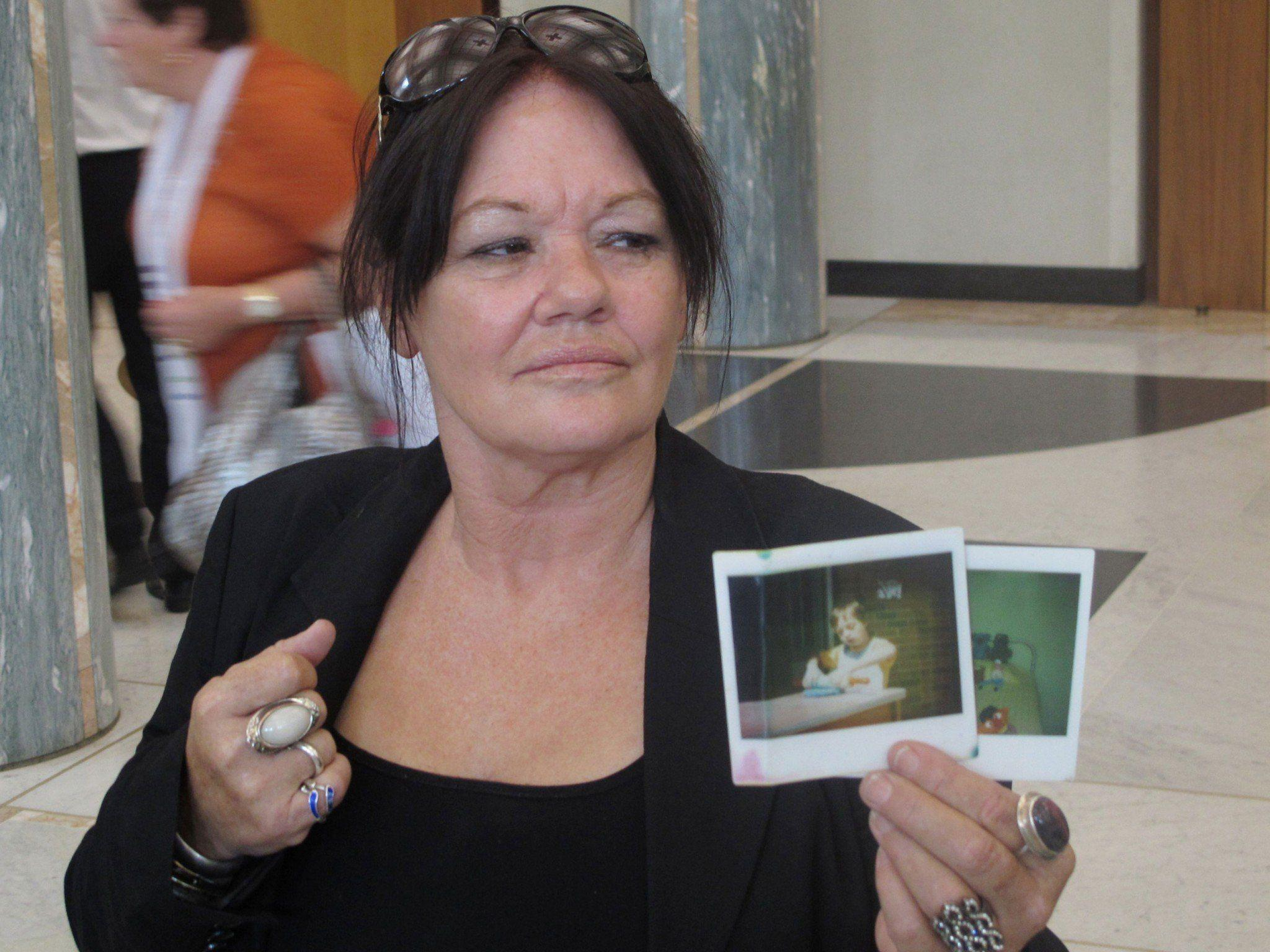 Auch dieser Mutter wurden die Kinder unrechtmäßig weggenommen.