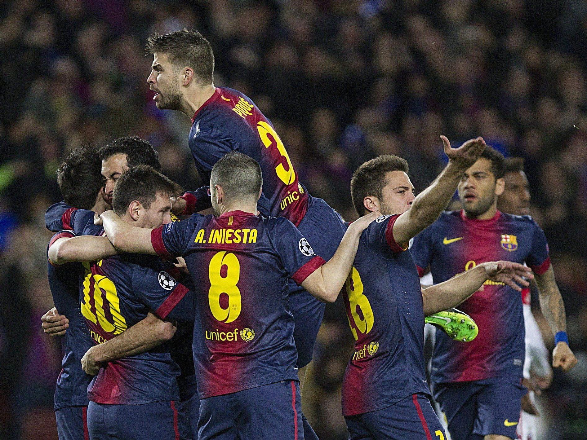Überzeugende Leistung des FC Barcelona.