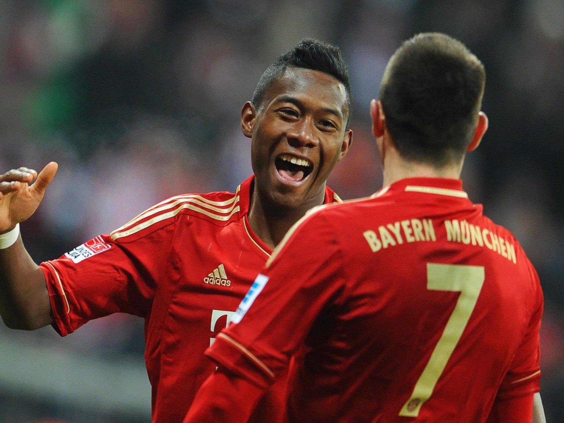 Alaba's Bayern treffen auf Juve.