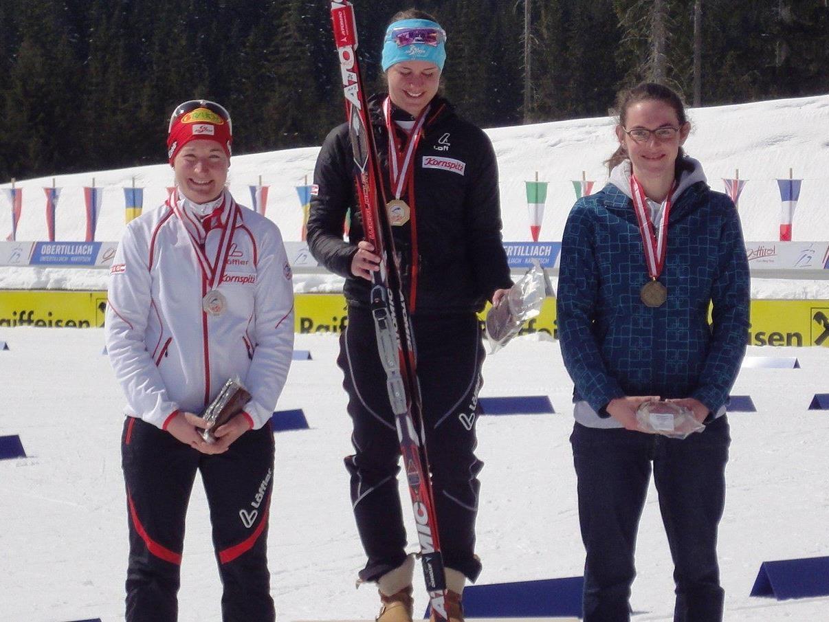 Ramona Düringer holte drei ÖM-Bronzene.