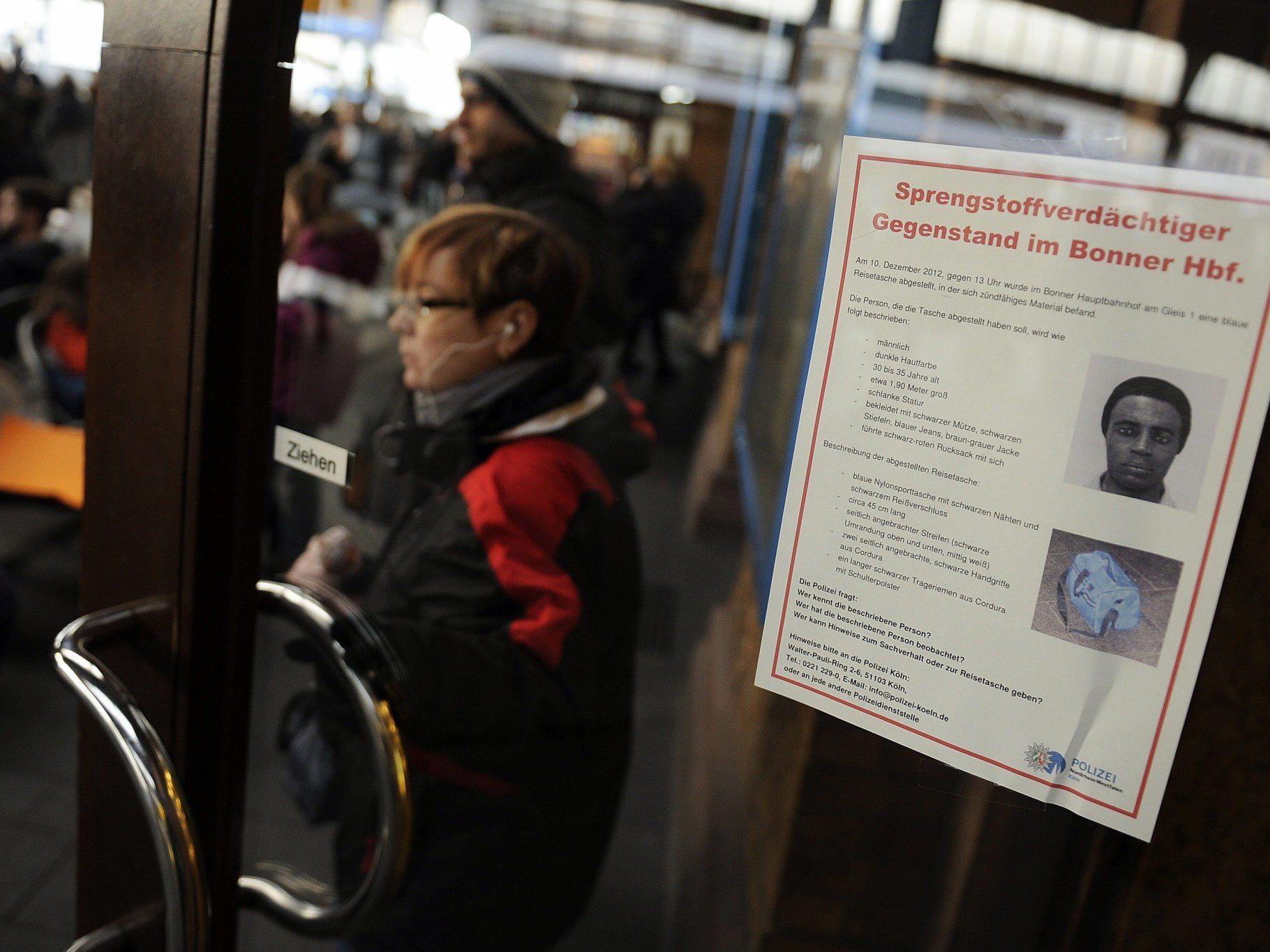 Möglicherweise bestehen verbindungen zum versuchten Anschlag am Bonner Hauptbahnhof im Dezember 2012.
