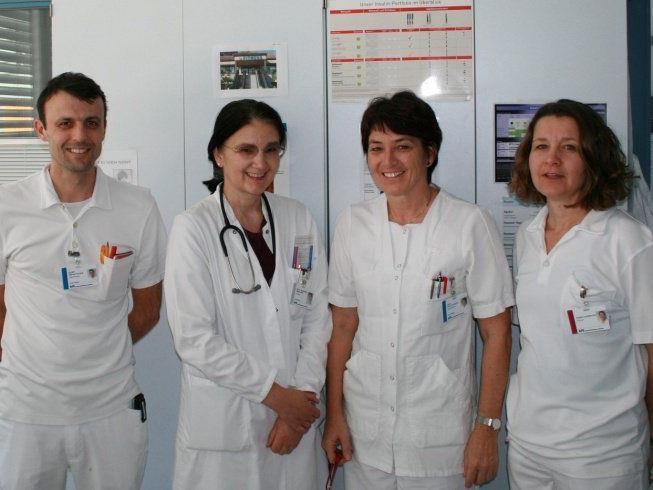 Das Team der DiabetikerInnen-Schulung