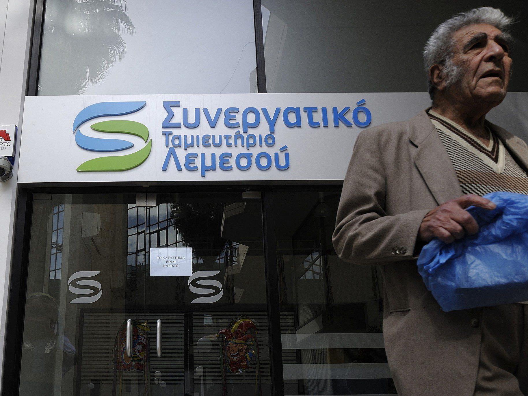 """Zwangsabgabe für Bankkunden in Zypern: """"Das ist eine Katastrophe""""."""