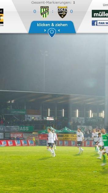 VOL.AT hat das größte Fußball-Fan-Panorama-Bild Vorarlbergs.