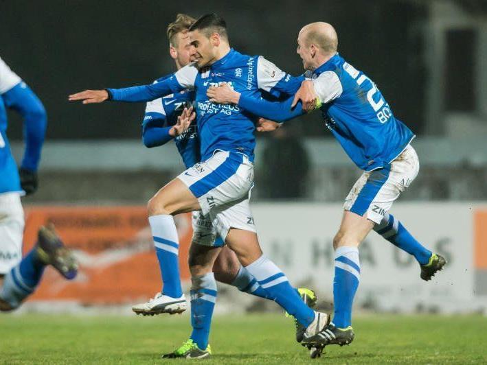 Beim FC Lustenau geht es derzeit drunter und drüber