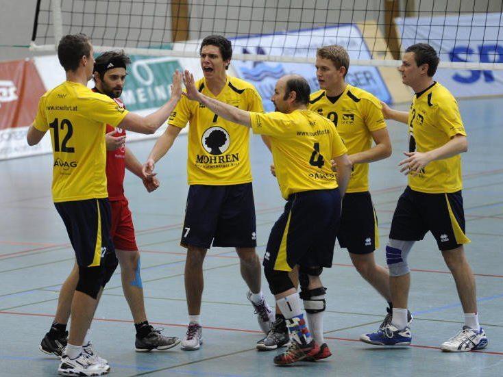 Österreichs Volleyball-Nachwuchselite trifft sich in Wolfurt.