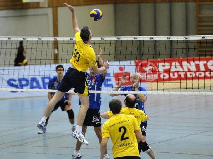 Zwei 0:3-Niederlagen für den VC Wolfurt in Salzburg.