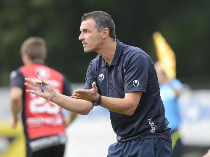 Hard-Trainer Oli Schnellrieder hofft in Innsbruck auf drei Punkte.