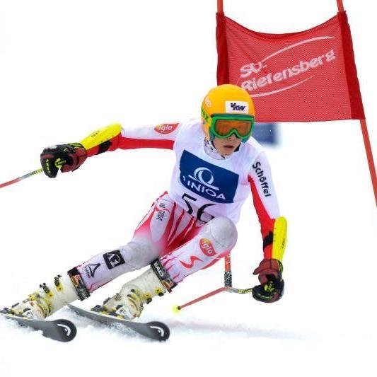 Philipp Stockhammer holt Gold im Super G.