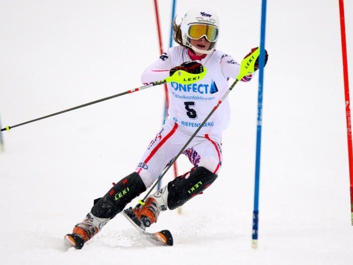 Katharina Liensberger und Michelle Niederwieser wurden Zweite.