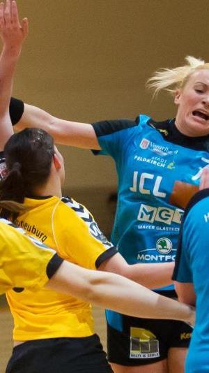 Elf Tore von Martina Strmsek für Feldkirch in Stockerau.
