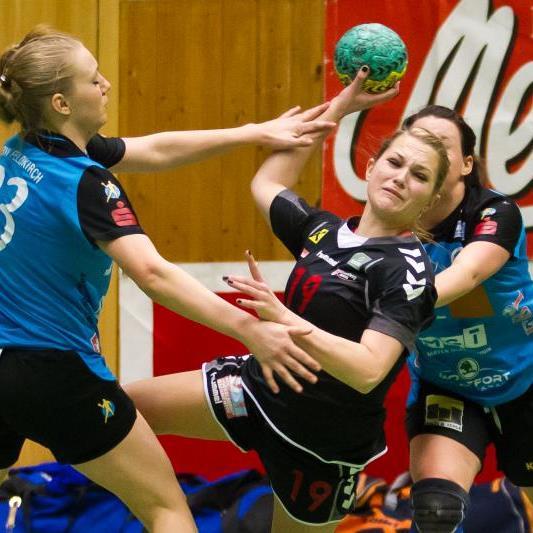 Anna Moosbrugger warf in Landhaus neun Tore.