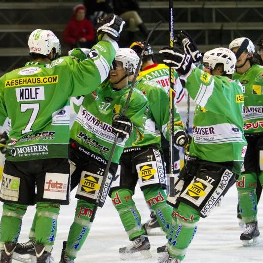 Dem EHC Bregenzerwald fehlt noch ein Sieg für die Finalteilnahme.