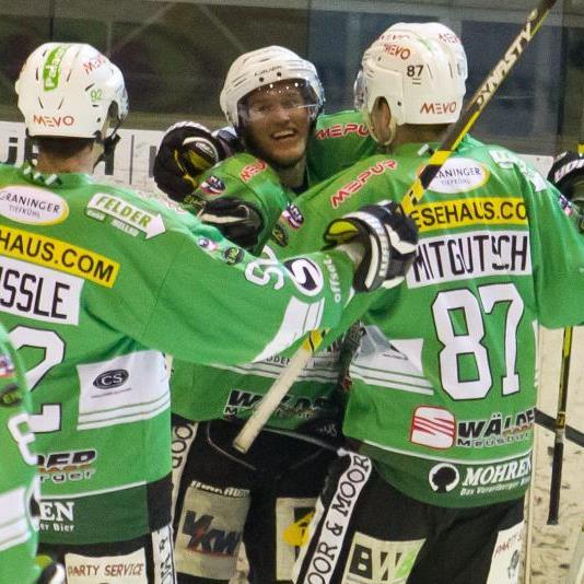 Der EHC Bregenzerwald gewann das erste Finalspiel im Penaltyschießen.