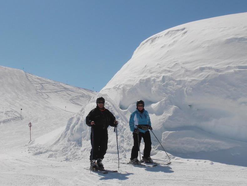 Schneesicherheit ist das Markenzeichen der Skiregion Warth-Schröcken, die im Bregenzerwald den spätesten Saisonschluss hat.