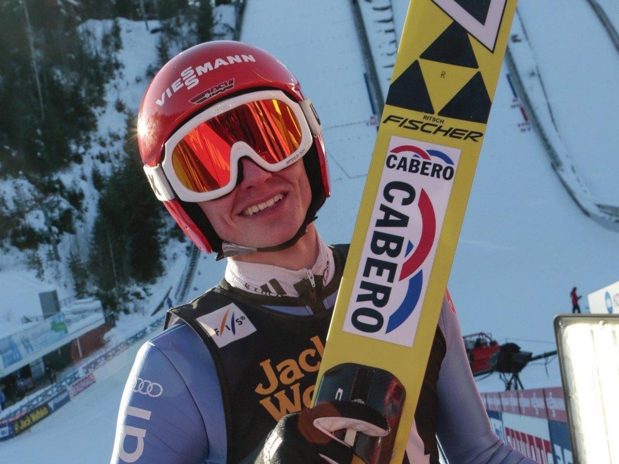 Richard Freitag hieß der glückliche Sieger im Einzelbewerb in Lahti.