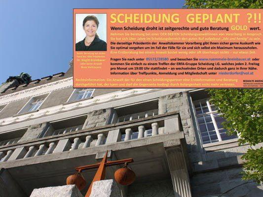 Screenshot: Mit einem selbst geschalteten Inserat dürfte sich der Feldkircher erneut Probleme eingehandelt haben.