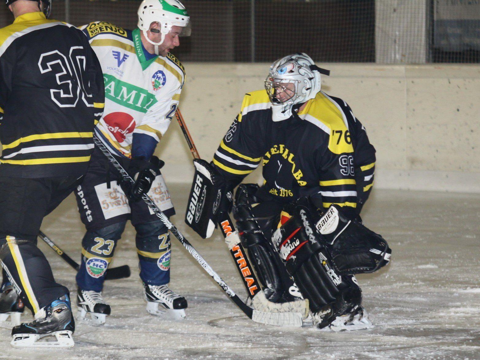 Walter Buaba kämpft gegen die Ice Tigers Dornbirn um den Meistertitel in der VEHL 2.