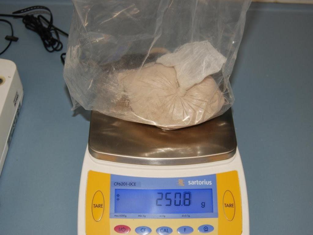Beschlagnahmte Ware: Mazedonier wollte sich mit Drogenverkauf Lebensunterhalt finanzieren.
